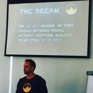 Speaking at Dev Camp